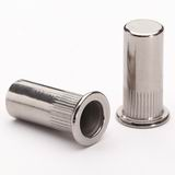 Flat Head Knurled Body Closed End Rivet Nut